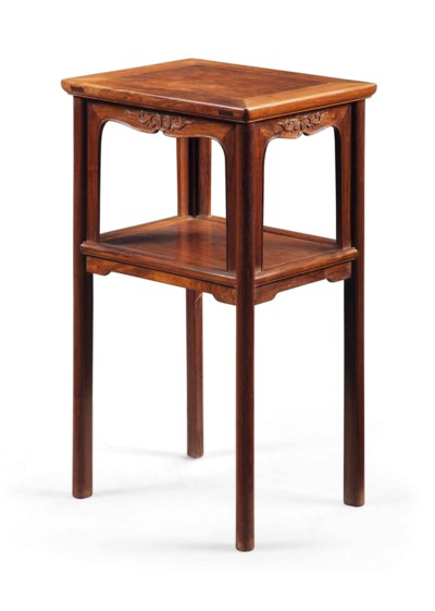 A CHINESE MIXED HARDWOOD STAND