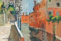 Place sur un canal, Venise