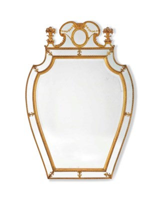 A SWEDISH ORMOLU AND GILTWOOD