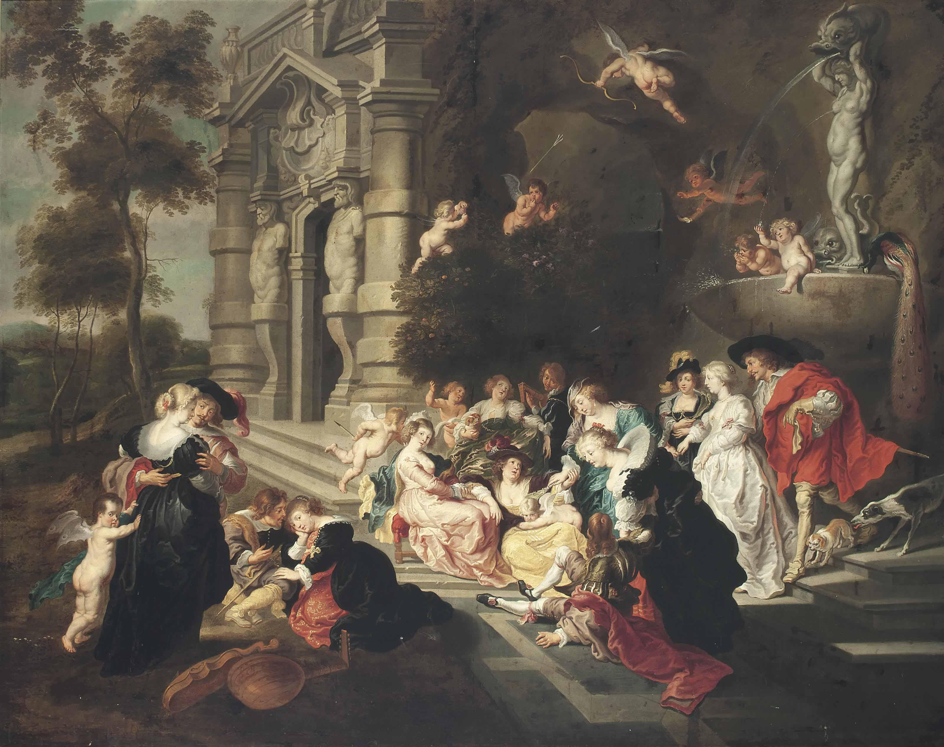 After Sir Peter Paul Rubens   The Garden of Love   Christie\'s
