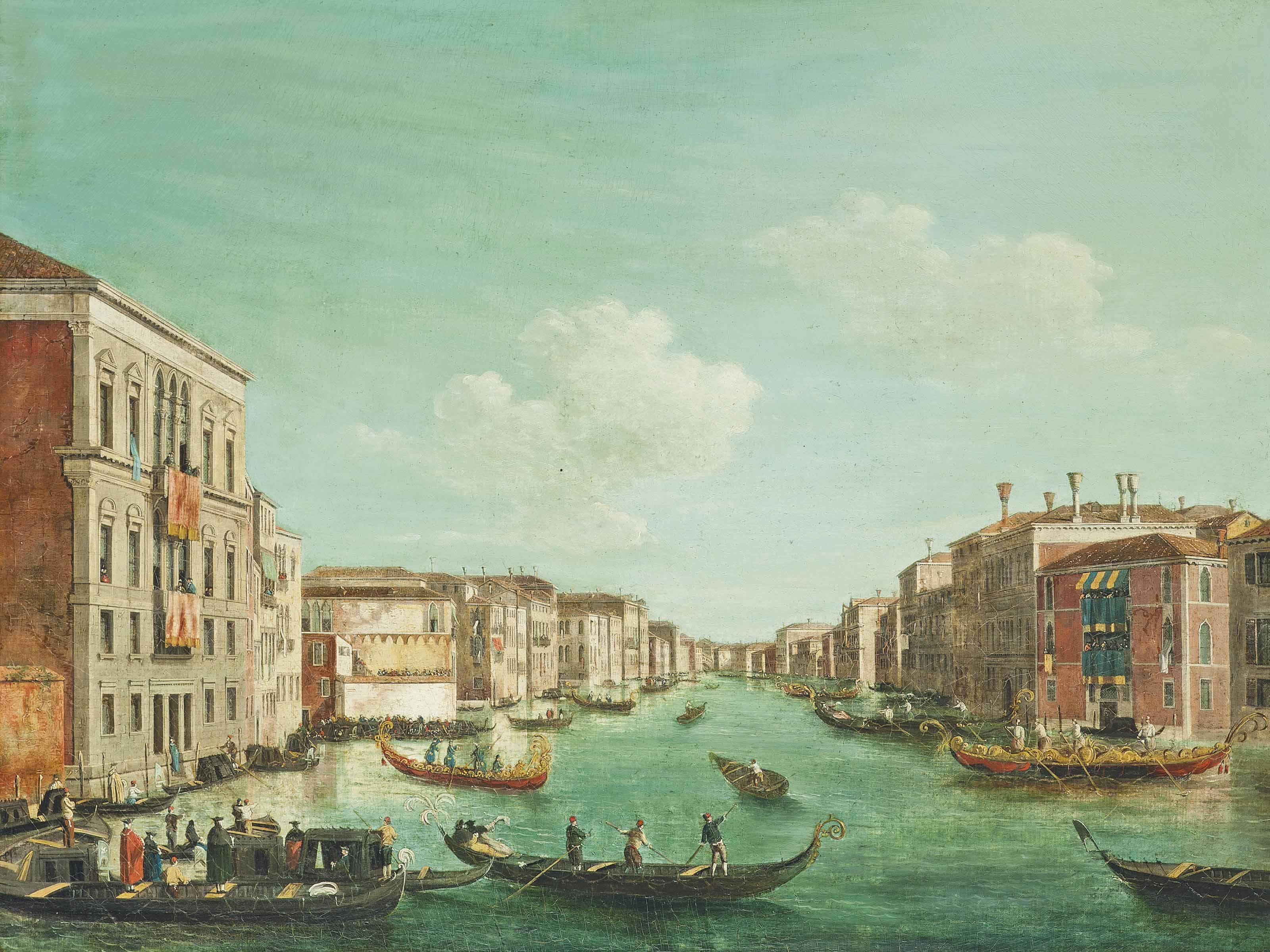 Follower of Giovanni Antonio Canal, il Canaletto