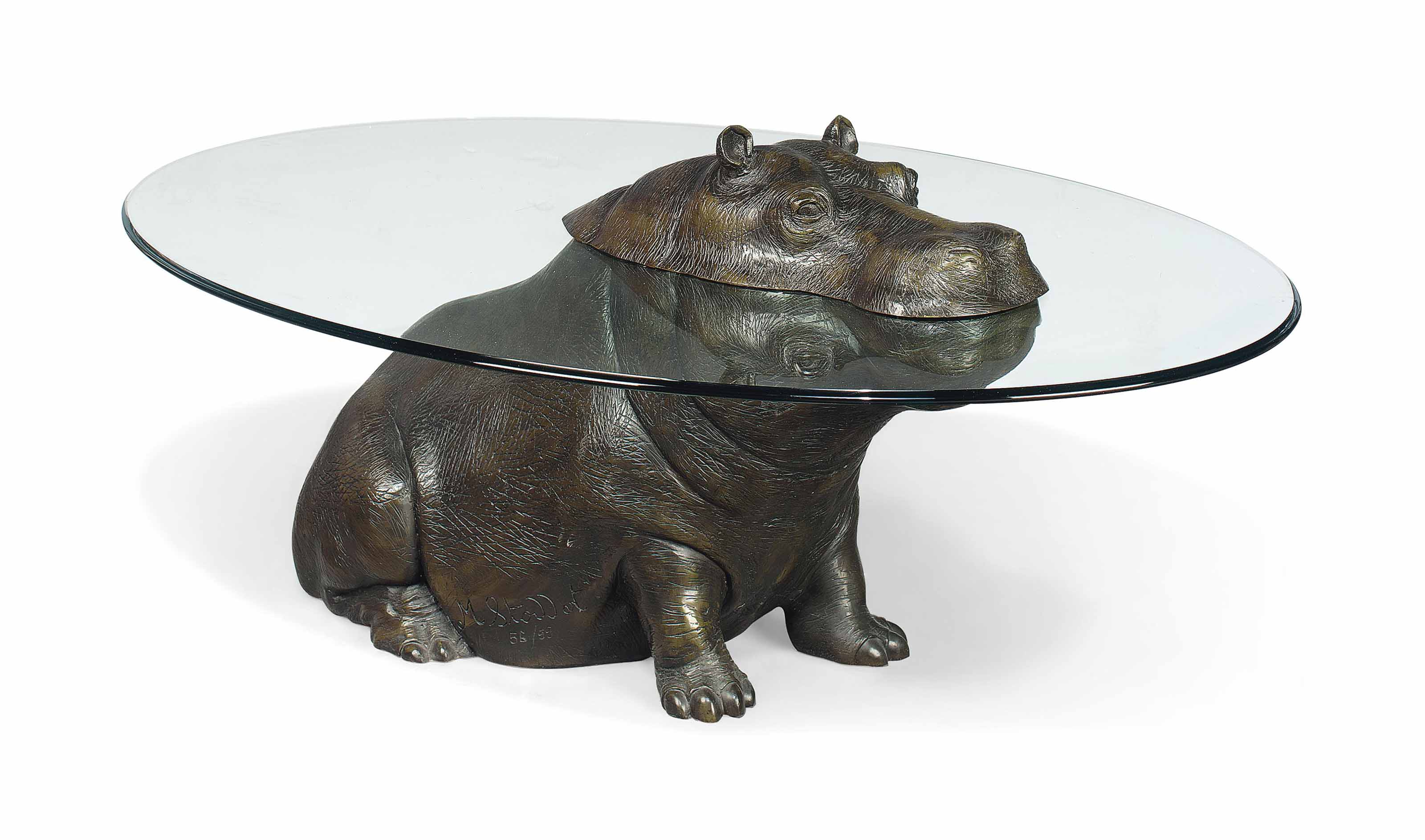 MARK STODDART CHEEKY HIPPO OCCASIONAL TABLE Occassional - Hippo coffee table