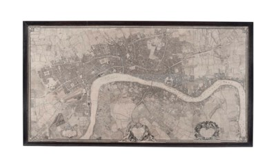 A Large Map of London