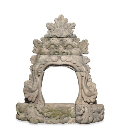 A COMPOSITION STONE CHIMNEYPIE