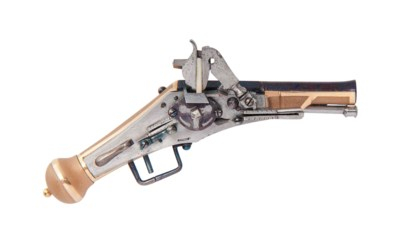 A MAGNIFICENT SOLID GOLD-STOCK