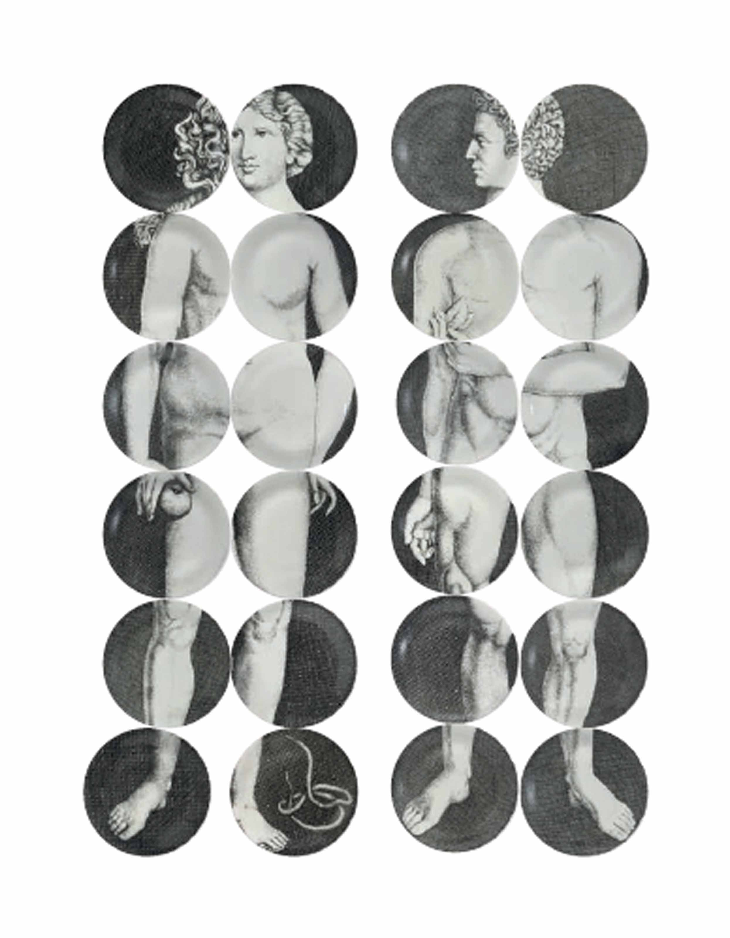 fornasetti adam and eve