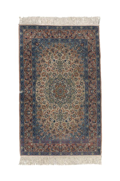 An extremely fine Isfahan rug