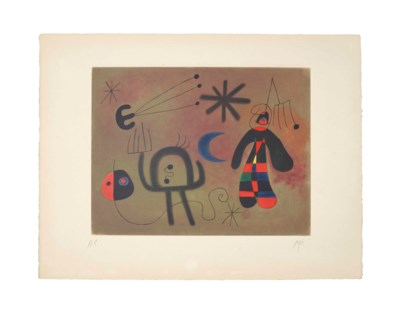 After Joan Miró (1893-1983)