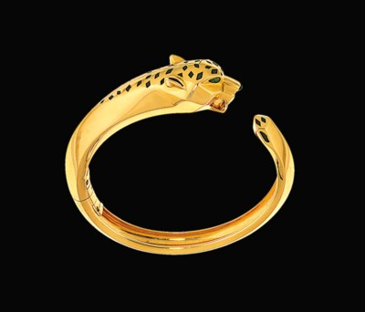 A 'Panther' bangle, by Cartier