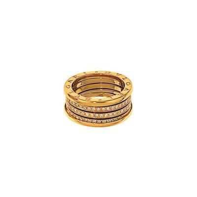 A diamond 'B.Zero1' ring, by B
