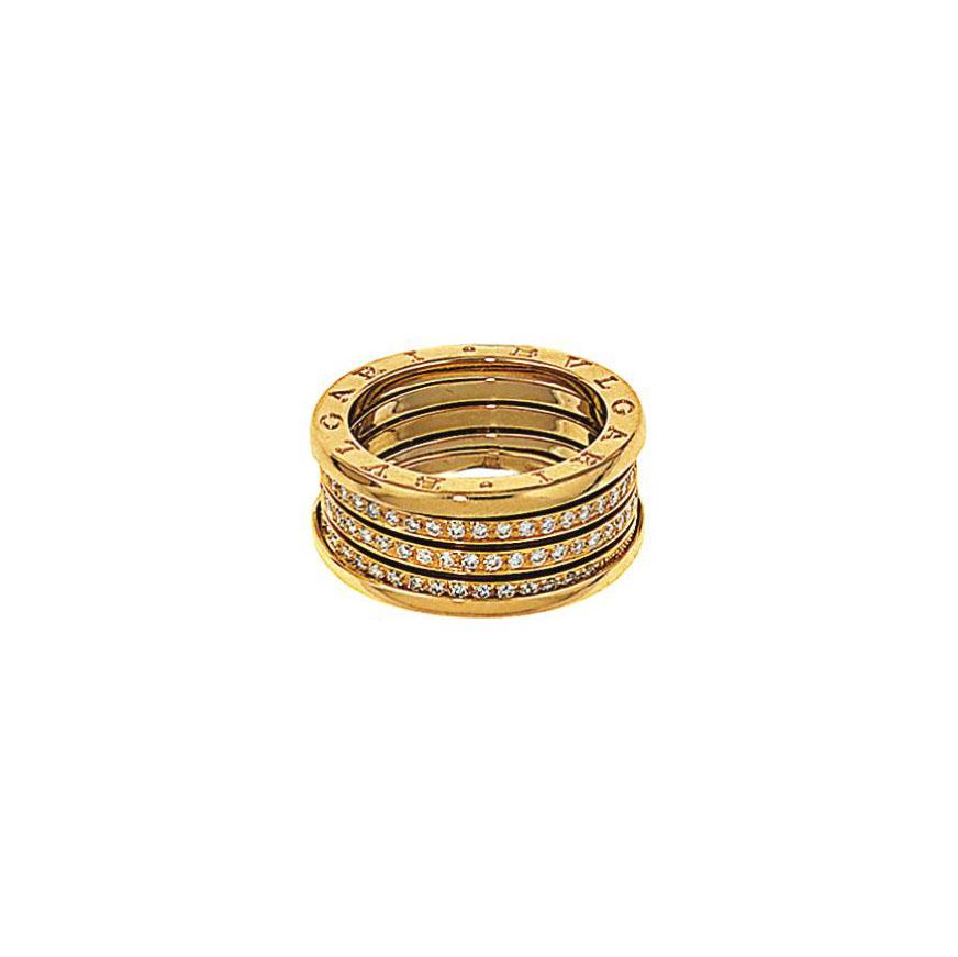 A diamond 'B.Zero1' ring, by Bulgari