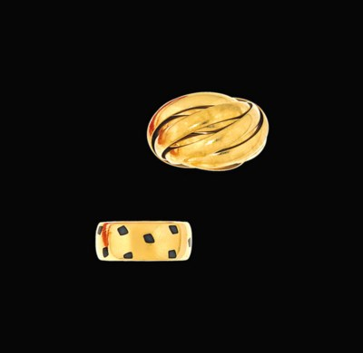 A ring, by Cartier and a ring,