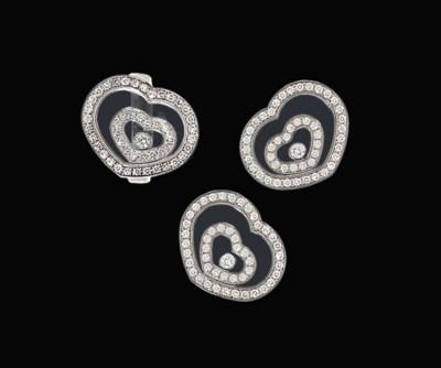 A diamond-set