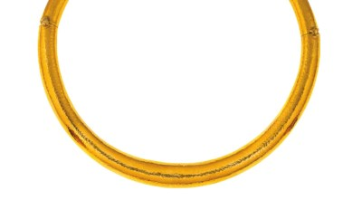 A torc necklace, by Lalaounis