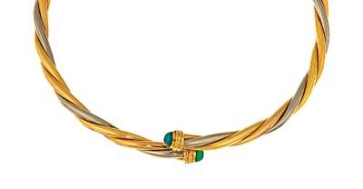 A torc necklace, by Cartier