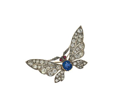 A sapphire, diamond and ruby b