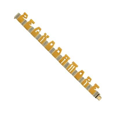 A diamond-set bracelet, by Cod
