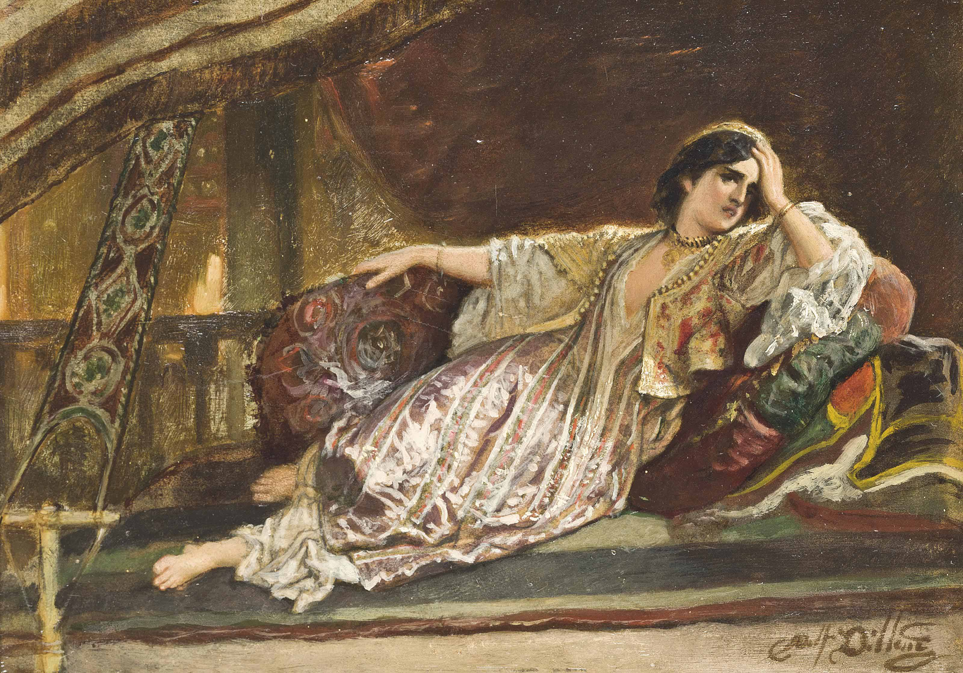Madame Adolf Dillens, née Thérese Legros