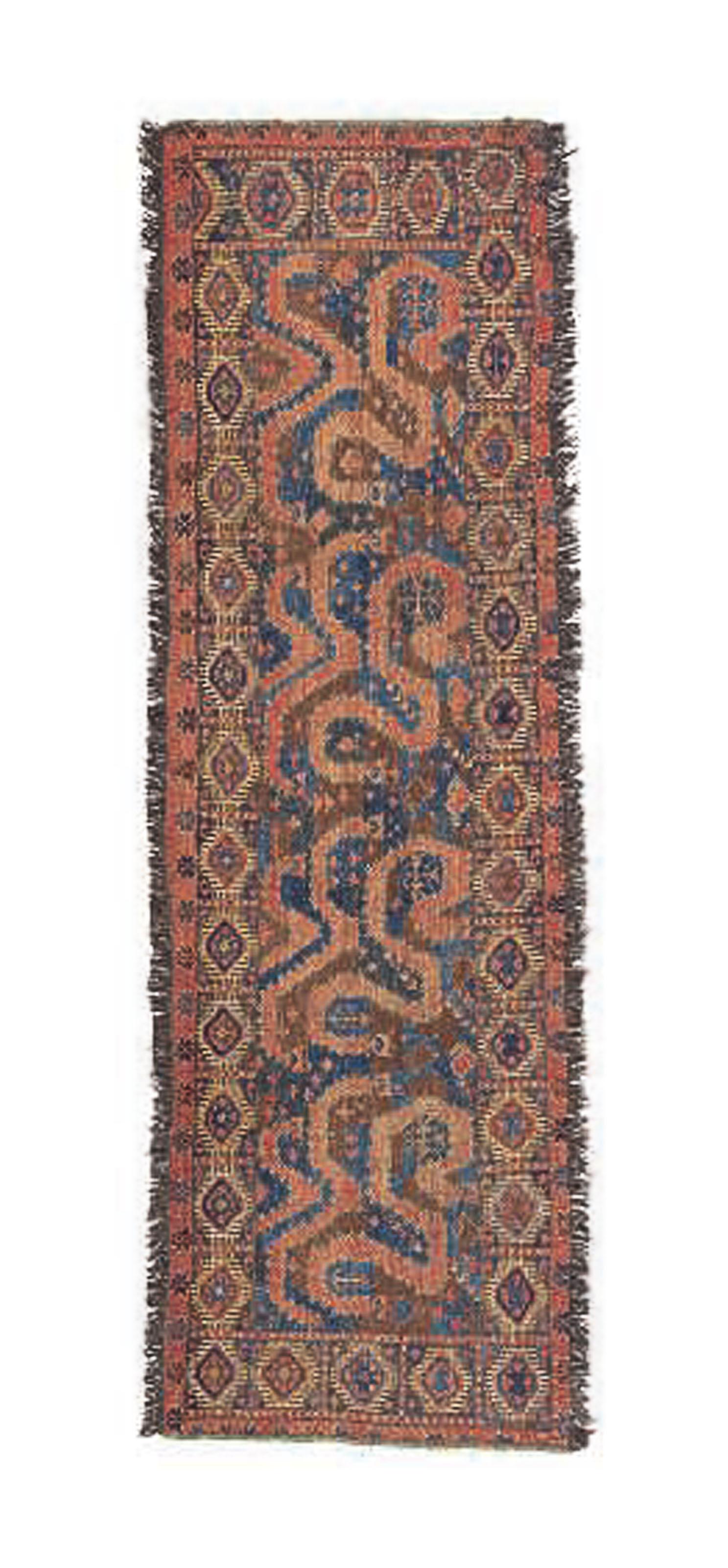 An antique part cotton Ersari
