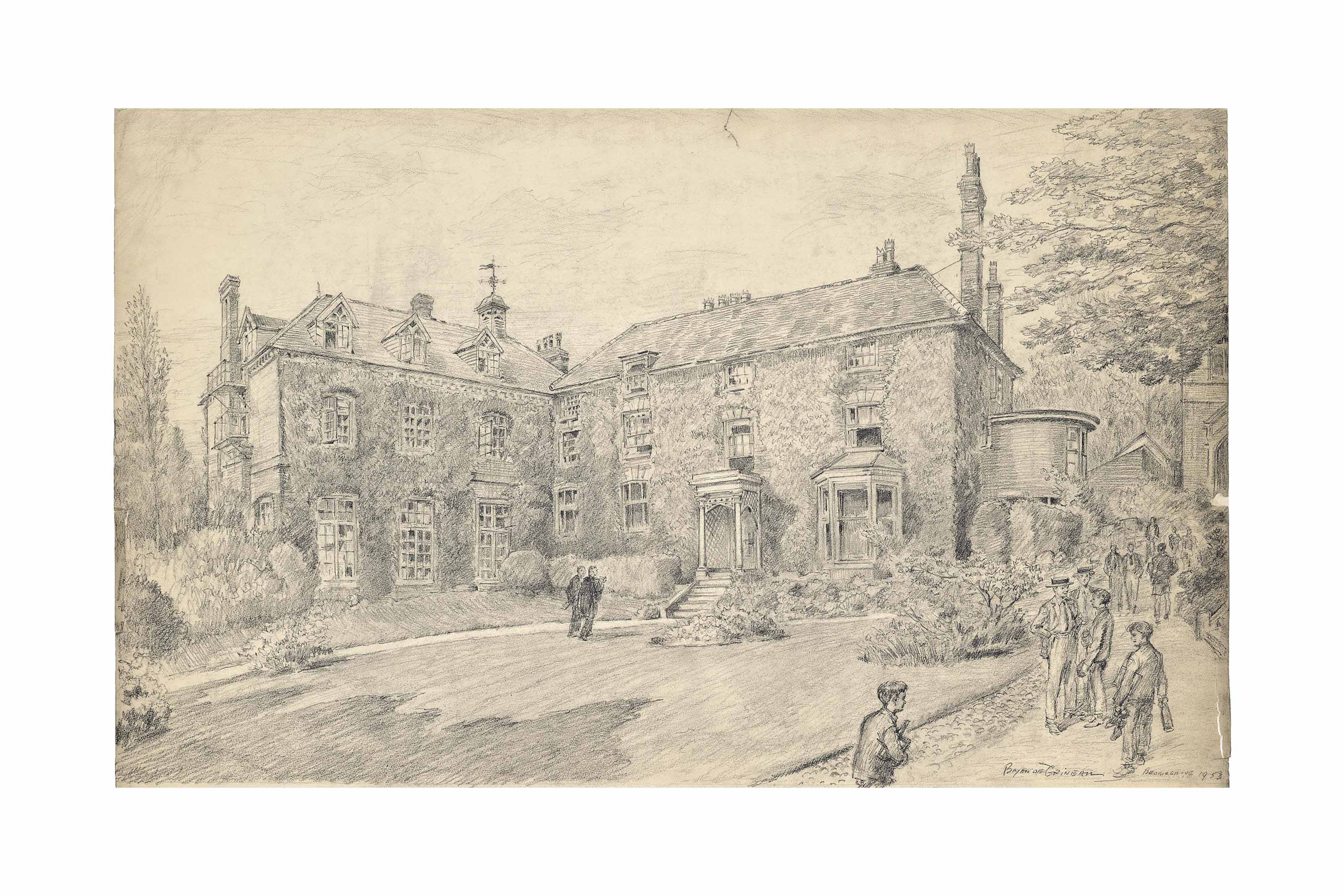 Bromsgrove School, Worcestershire: The Old School and Master's House: Now celebrating the quarter centenary of its re-organisation under H.R.H. Edward VI