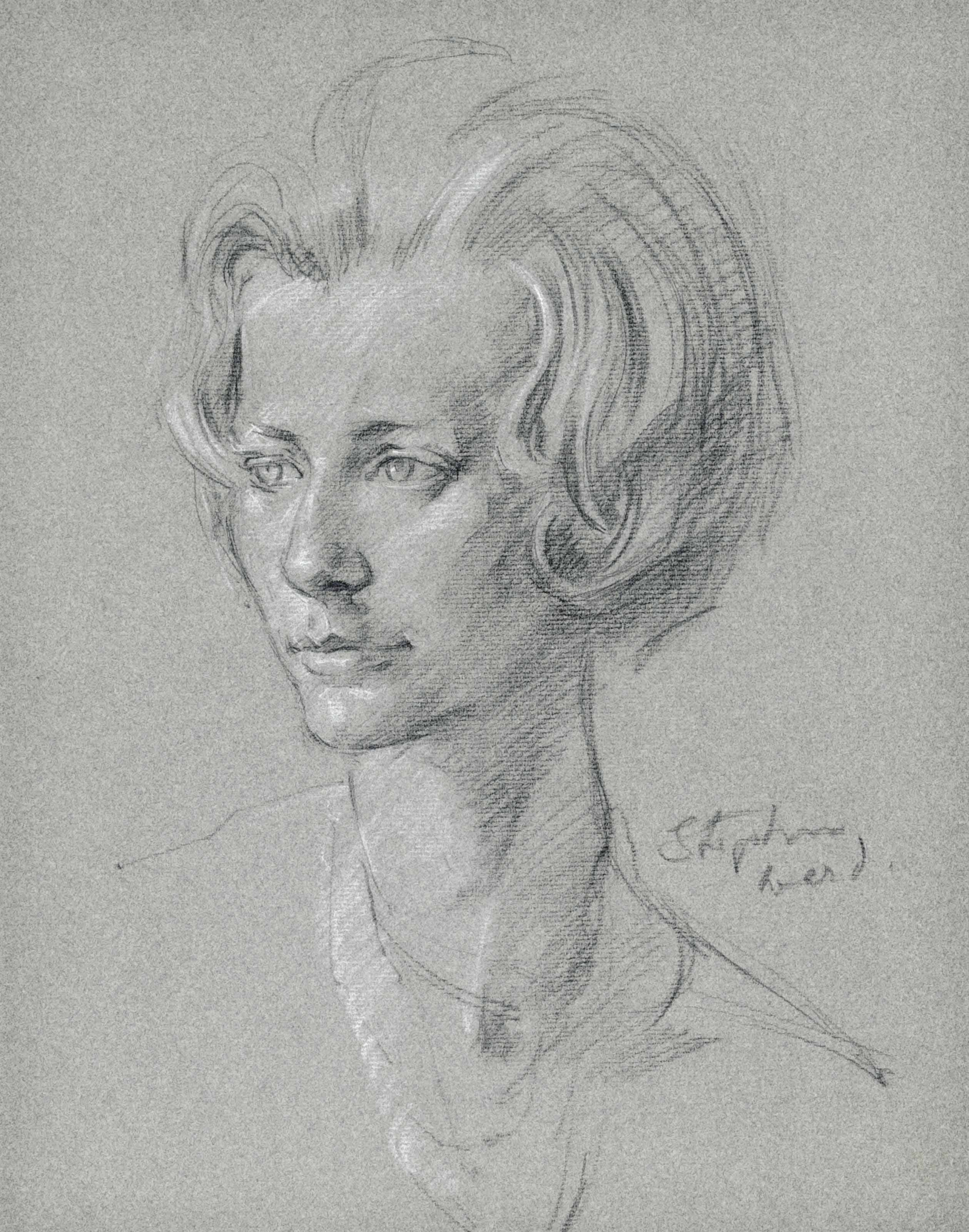 Two portraits of Katharine, Duchess of Kent (one illustrated)