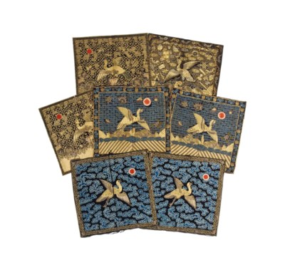 A COLLECTION OF EMBROIDERED SE