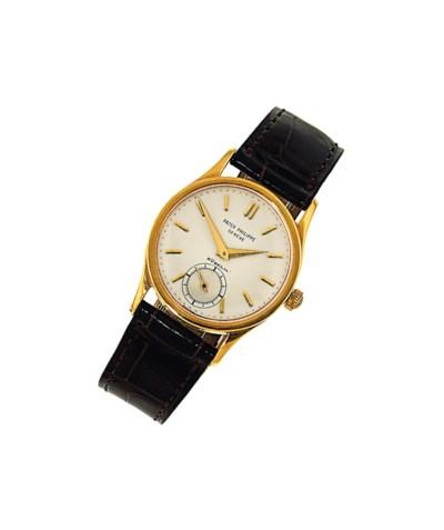 A wristwatch, by Patek Philipp