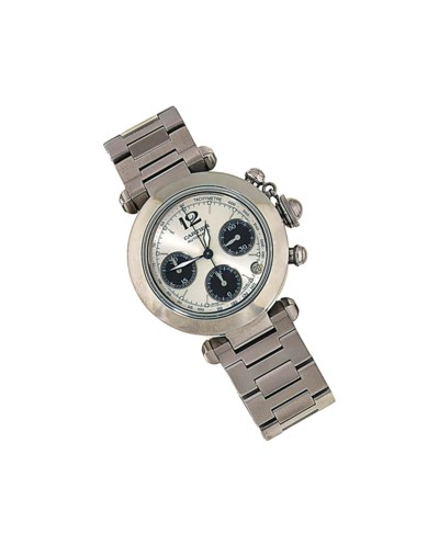 A stainless steel automatic 'P