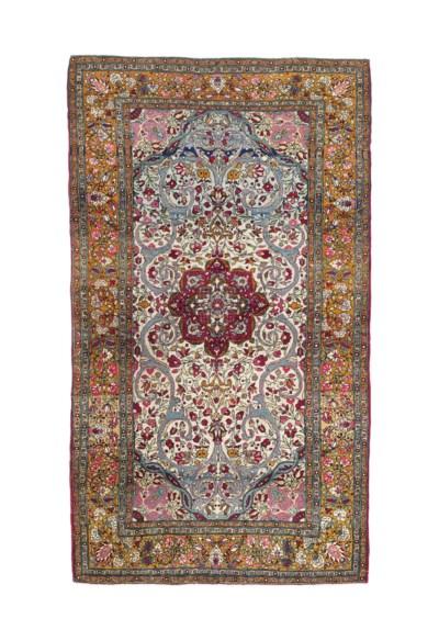 A fine kashan rug