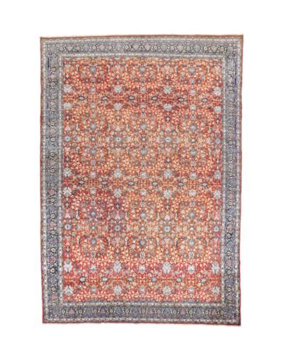 A fine large Hereke carpet