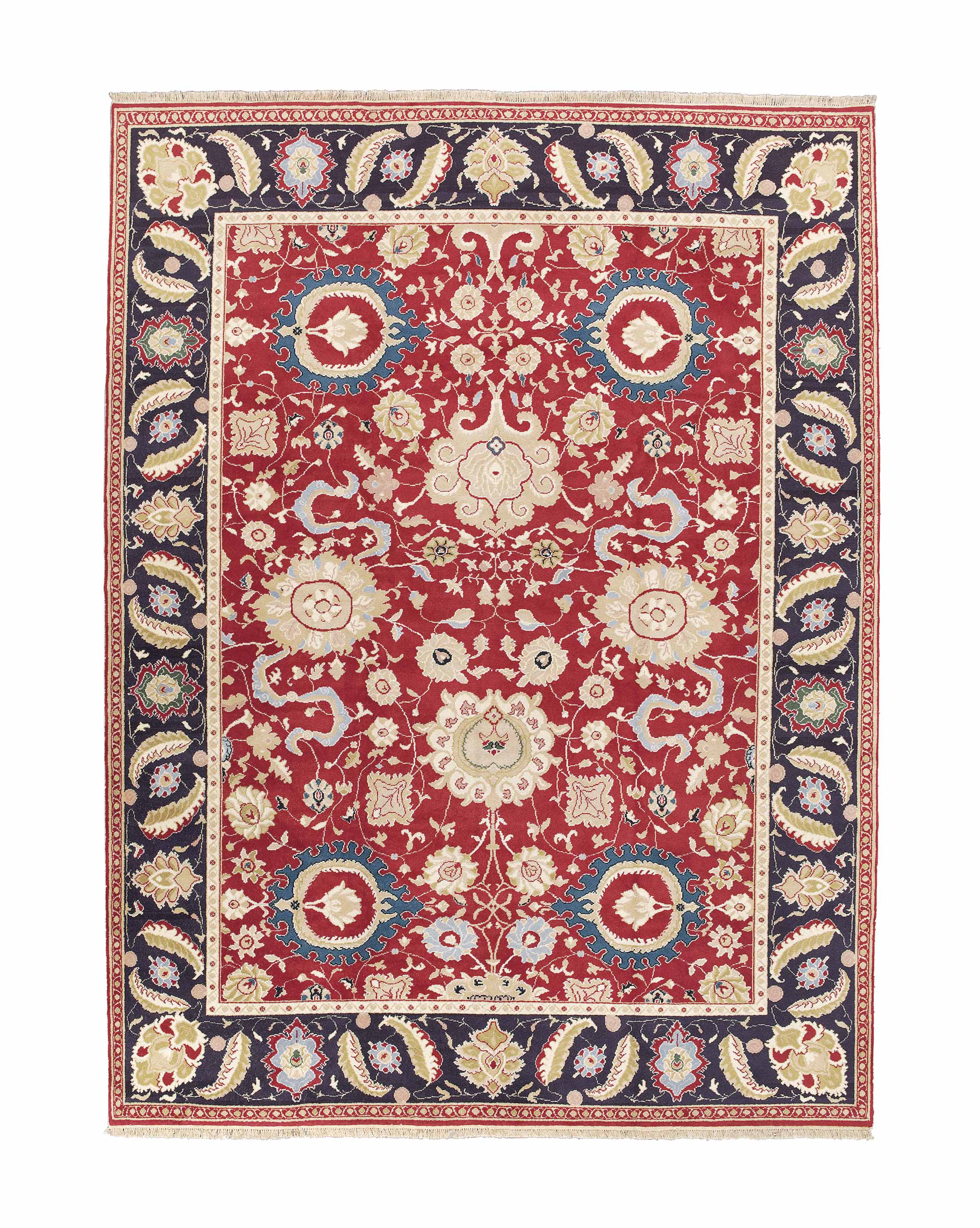 A fine Agra style carpet