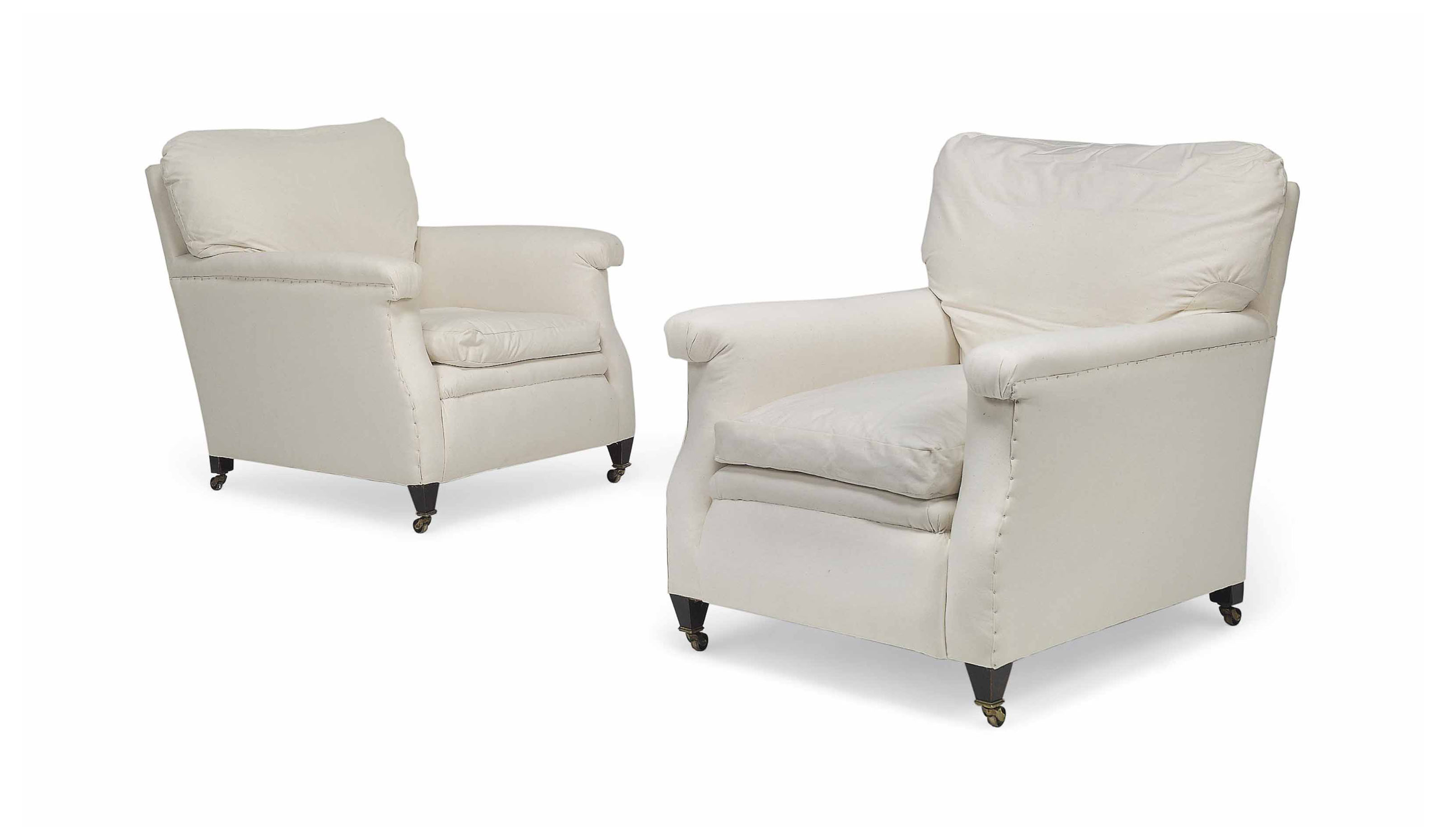 A PAIR OF LATE VICTORIAN HOWAR