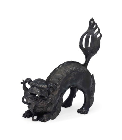 A Japanese Bronze Koro [Incens