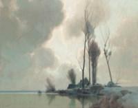 A lakeside crossing