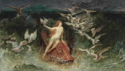 Auguste Hadamard (FRENCH, 1823
