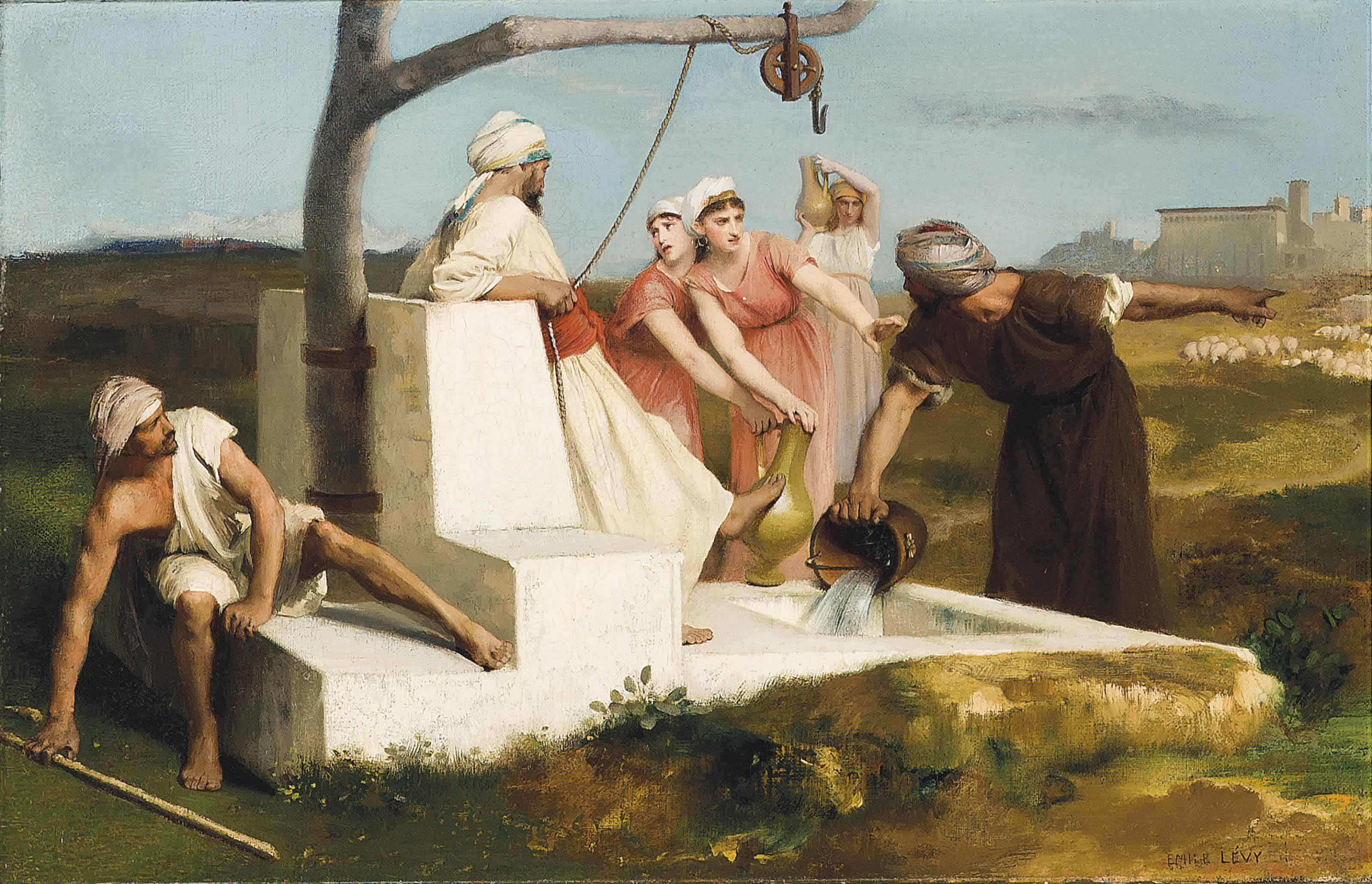 Dispute at the well