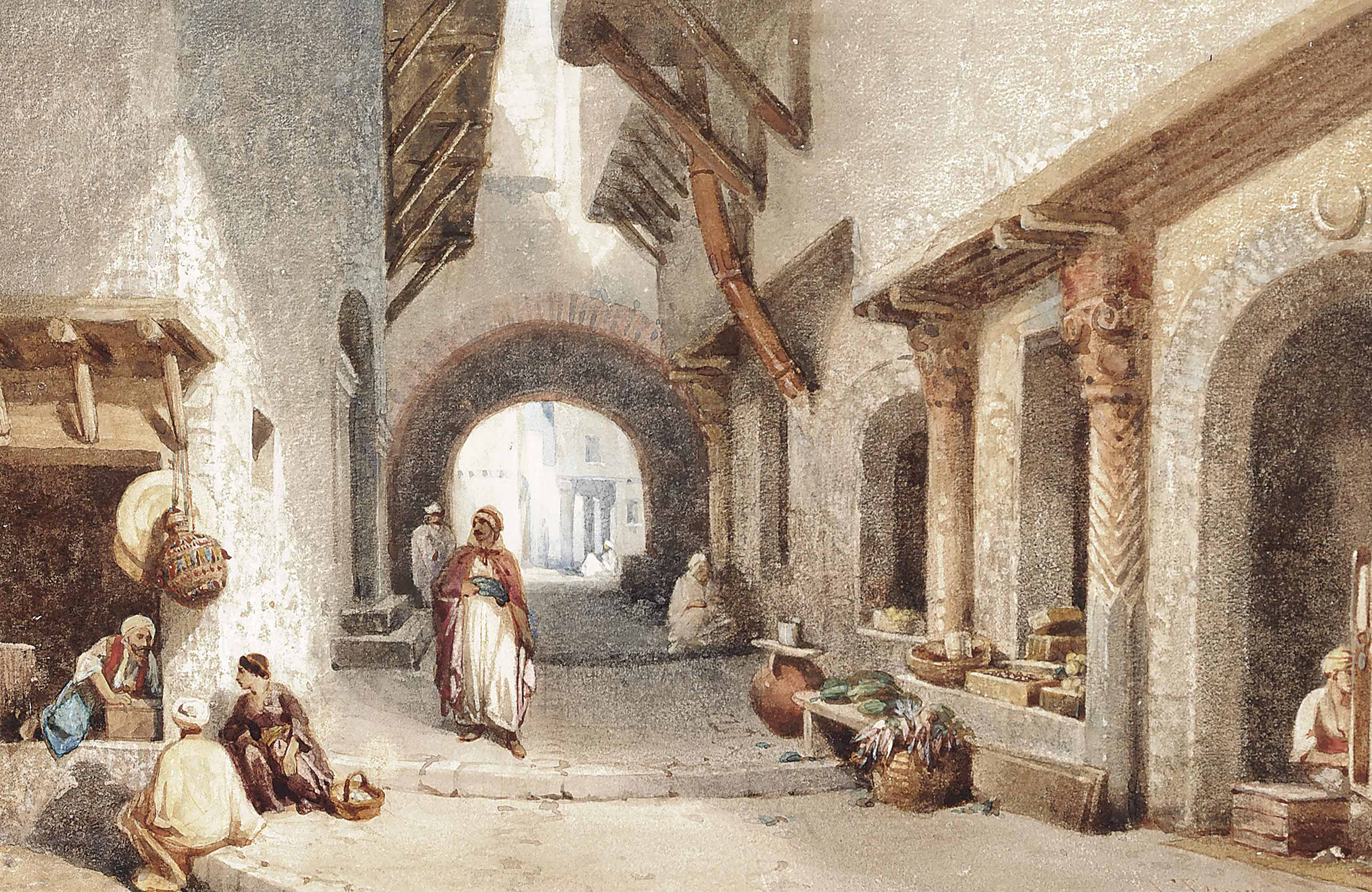 Louis Tesson (French, 1820-1870)
