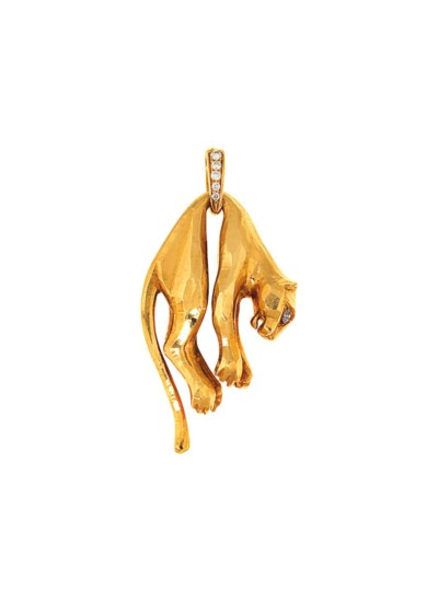 A 'Panther' pendant, by Cartie