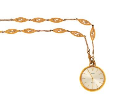 A 'Cellini' dress pocket watch