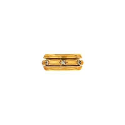A diamond 'Possession' ring, b