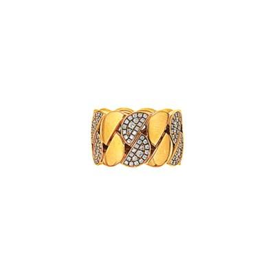 A diamond-set 'La Dona' ring,