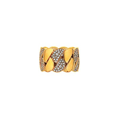 A diamond-set 'La Dona' ring,