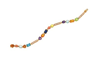 A gem-set 'Allegra' bracelet,
