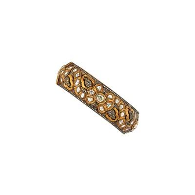 A modern Indian diamond-set ba
