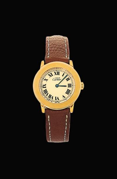 A gilt 'Must II' quartz wristw