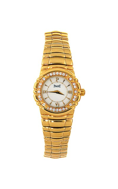 A diamond-set bracelet watch,