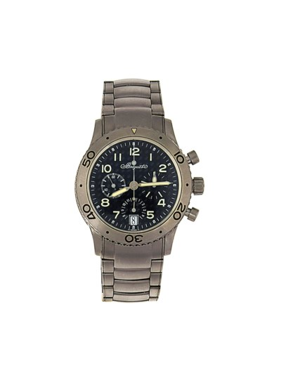 A titanium automatic chronogra