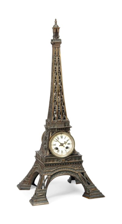 A FRENCH BRONZE ARCHITECTURAL