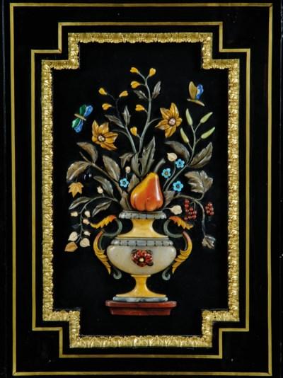 A NAPOLEON III ORMOLU AND PIET