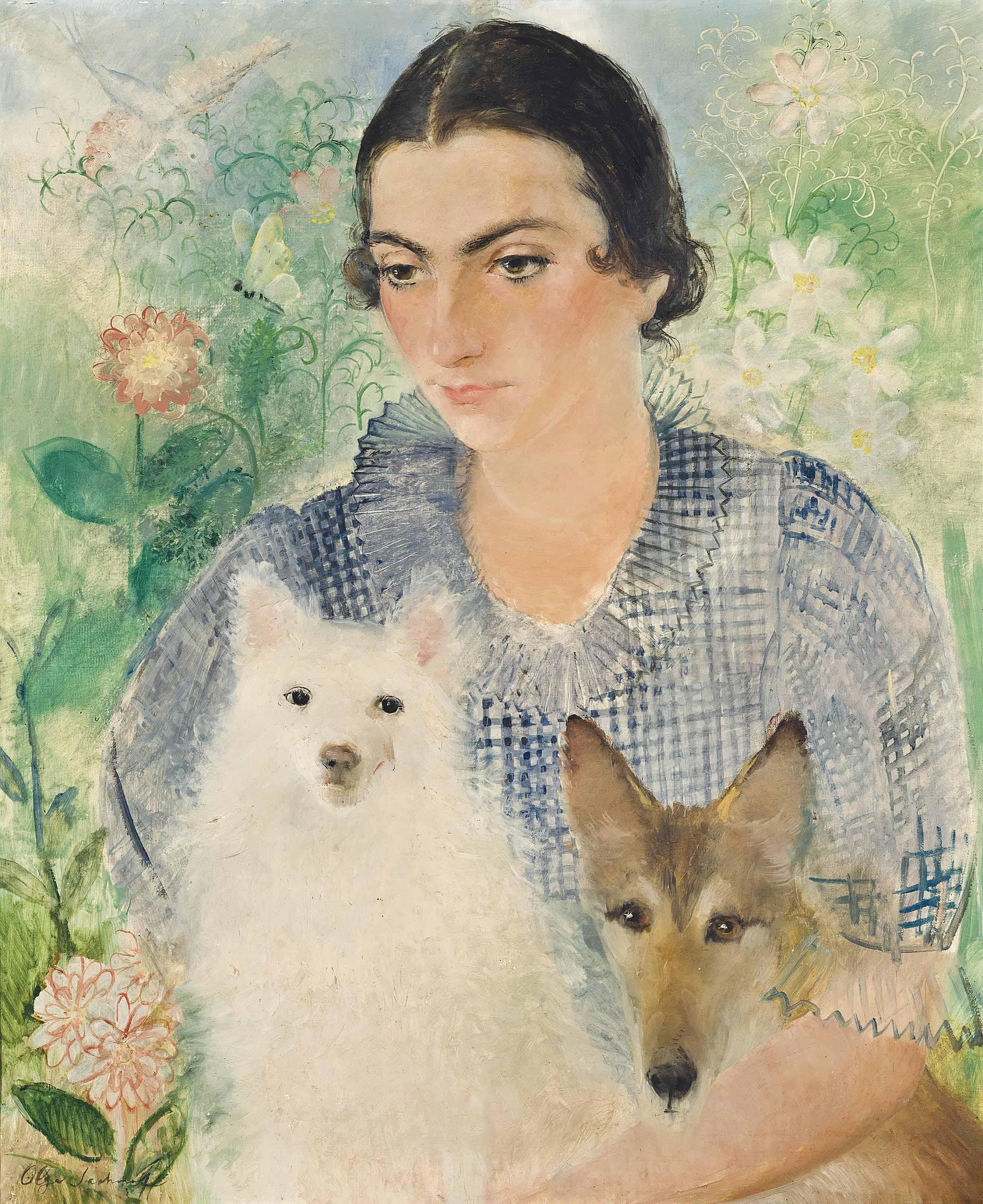 Portrait of Gilberte Tintorer